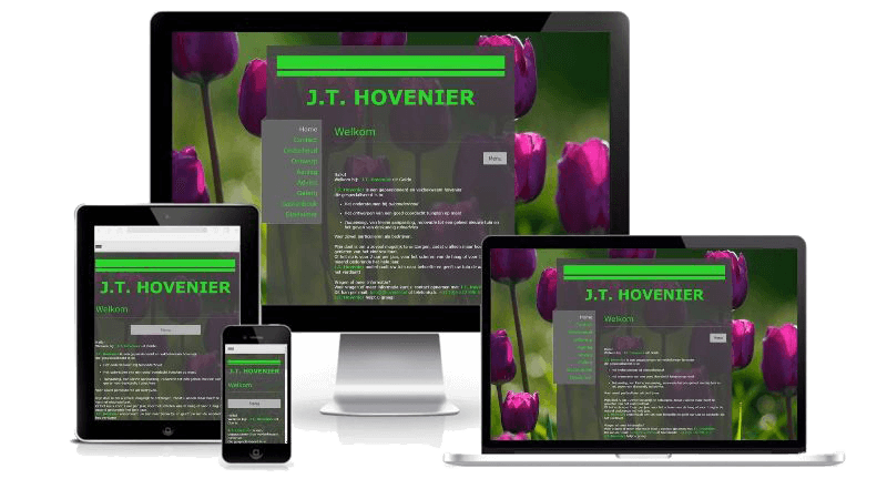 J.T. Hovenier - Webdesign
