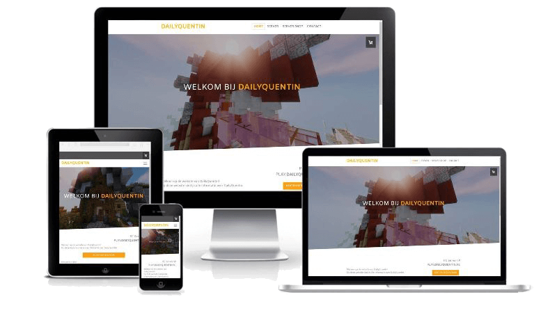 DailyQuentin - Webdesign