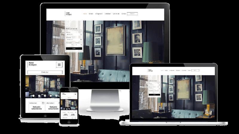 Hotel Krimpen - Webdesign
